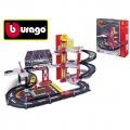 BBurago Ferrari Racing Garage + 1 autíčko