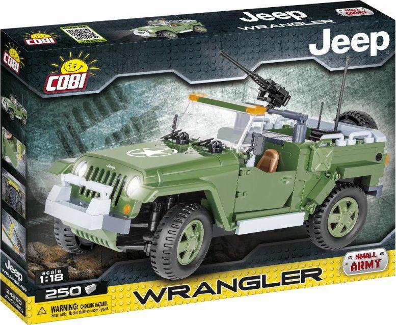 Cobi 24260 Small Army JEEP Wrangler vojenský 250 k