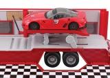 Ferrari Race & Play Racing Hauler (1:43) servisní kamion s autíčkem Bburago