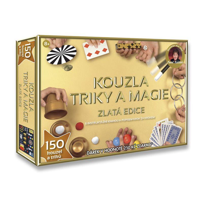 HM Studio Kouzla triky a magie Zlatá edice 150 triků