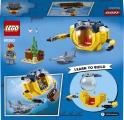 LEGO City 60263 Oceánská miniponorka