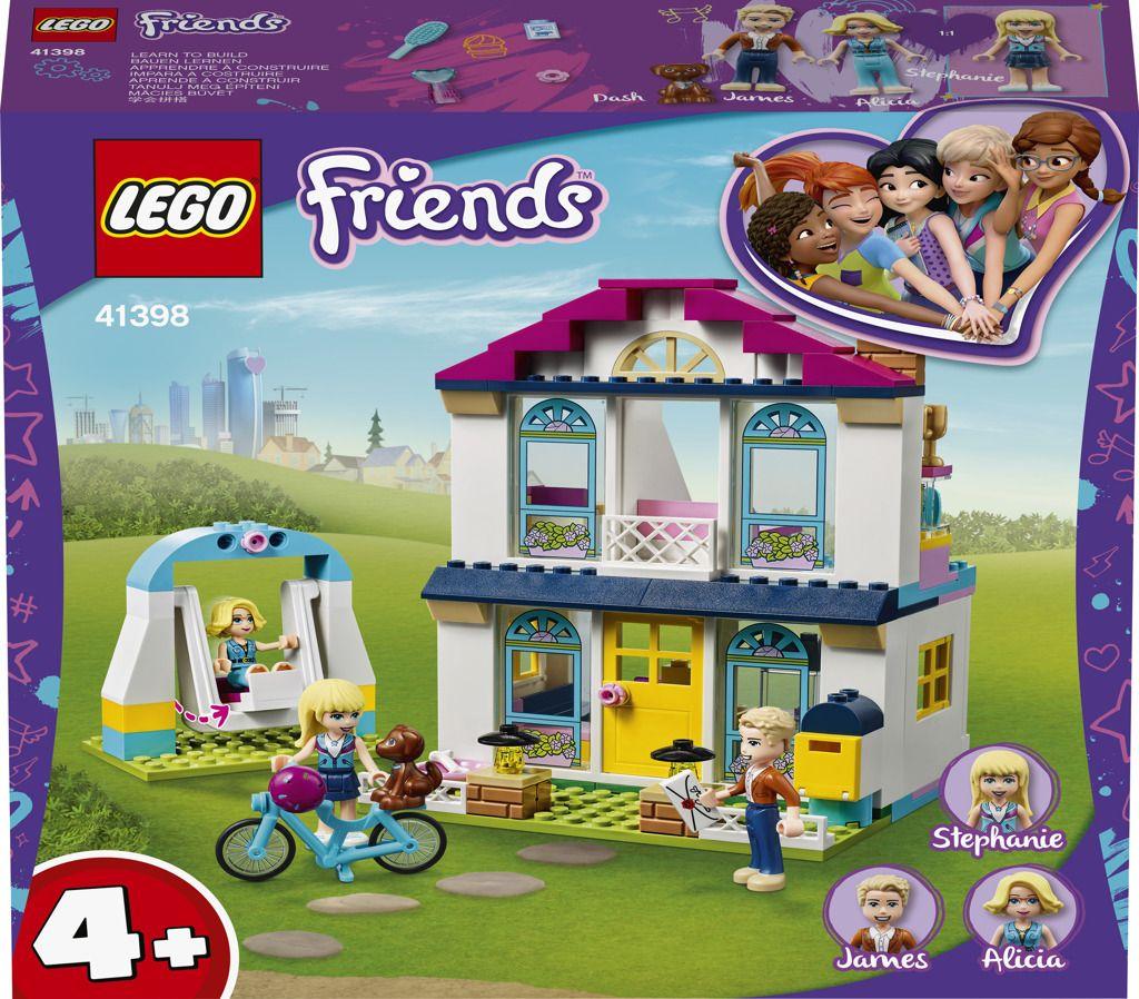LEGO Friends 41398 Stephanie a její dům