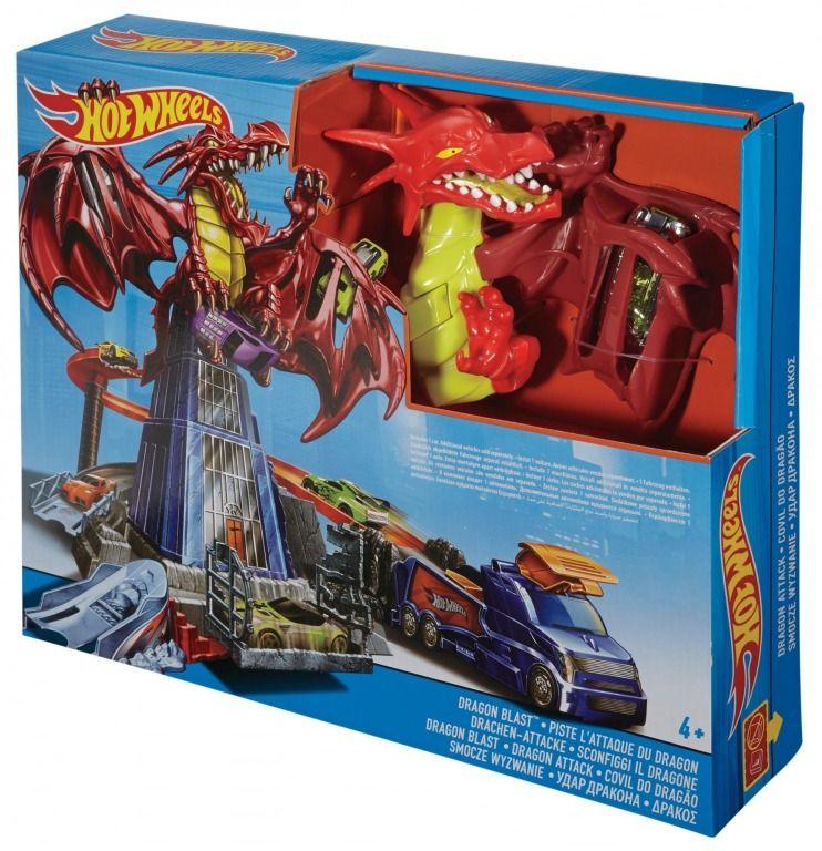 Mattel Hot Wheels Souboj s drakem