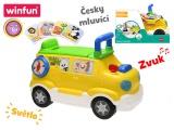 Mikro Trading Auto edukační/odrážedlo 42x22x30 česky mluvící na baterie se světlem a zvukem 18m+ v k