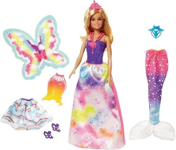 Barbie víla a pohádkové oblečky Mattel