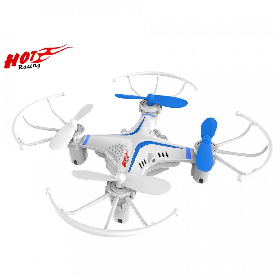 Buddy Toys, RC Dron 10 (BRQ 110) 2,4 GHz, bílý Fleg