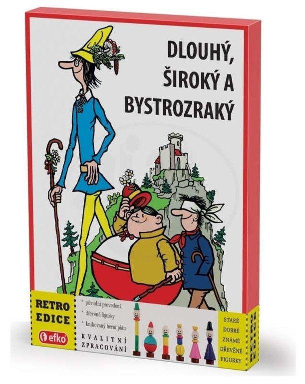 Efko Dlouhý Široký a Bystrozraký RETRO edice
