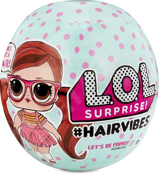 MGA L.O.L. Surprise! #Hairvibes Česatice PDQ