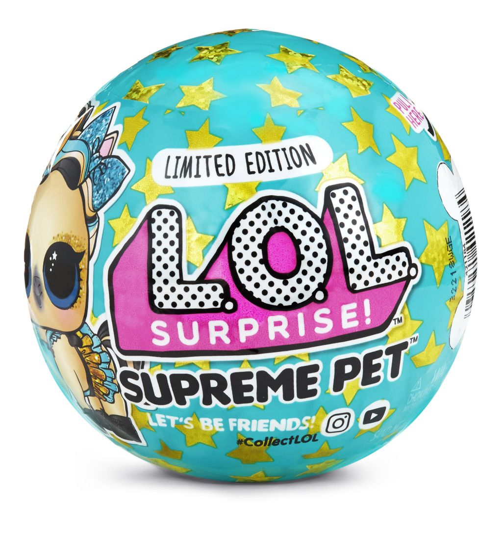 MGA L.O.L. SURPRISE Supreme Pet Limited edition