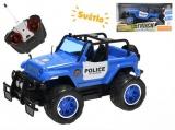Mikro Trading R/C auto policie terénní 24cm 27MHz plná funkce na baterie se světlem 2barvy v krabičc