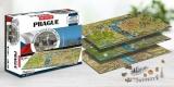 Puzzle 4D Cityscape panorama Praha 1200d