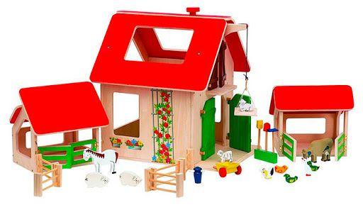 Woody 90782 Dřevěná farma - mírně poškozený obal