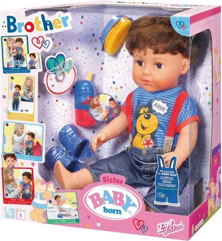 Zapf Creation Baby Born Starší bratříček