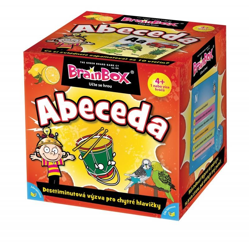 Brainbox Abeceda ADC Blackfire