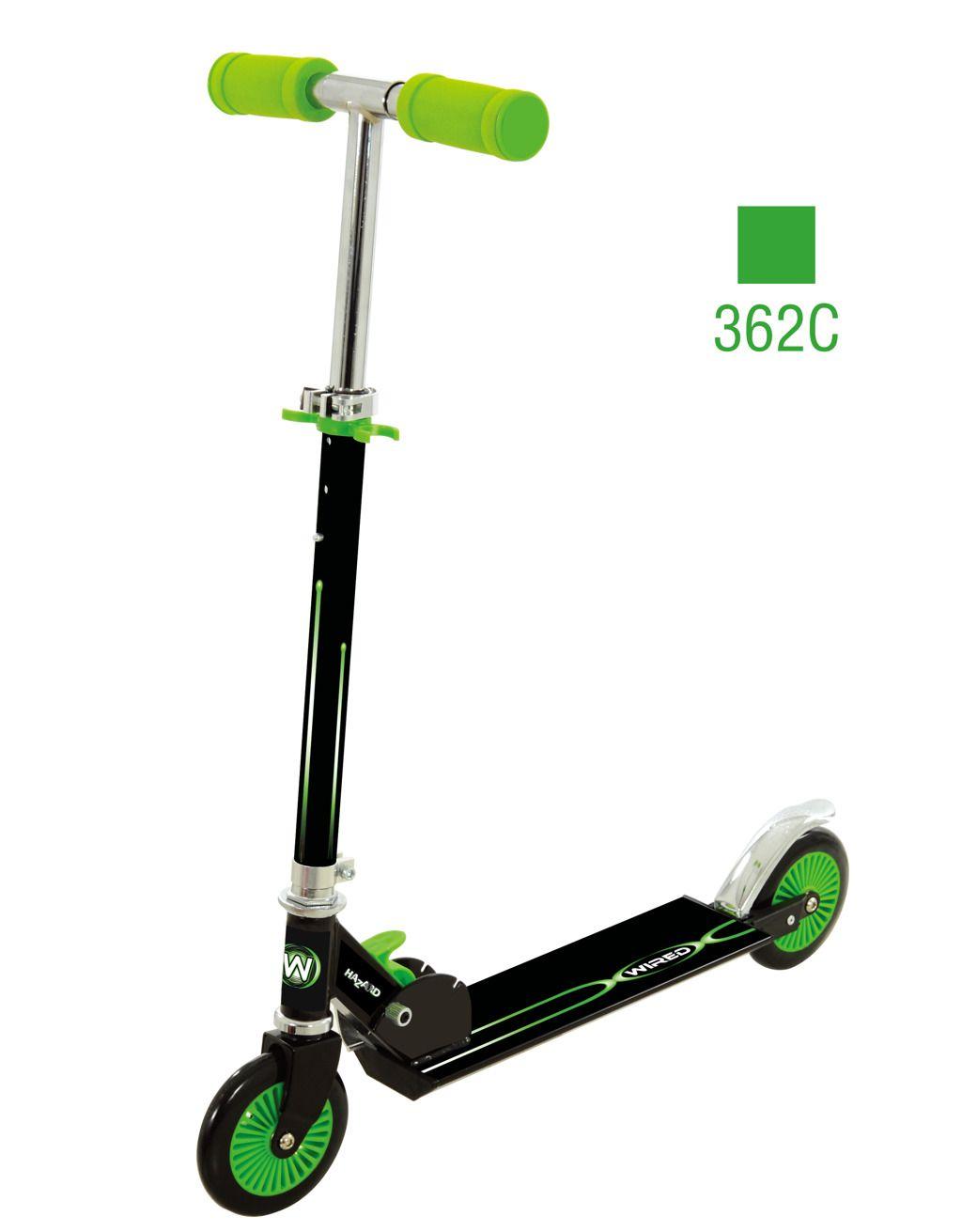 Dětská koloběžka skládací Scooter 5 zelená All Toys