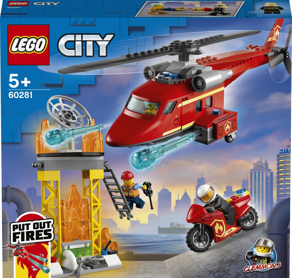 LEGO City 60281 Hasičský záchranný vrtulník