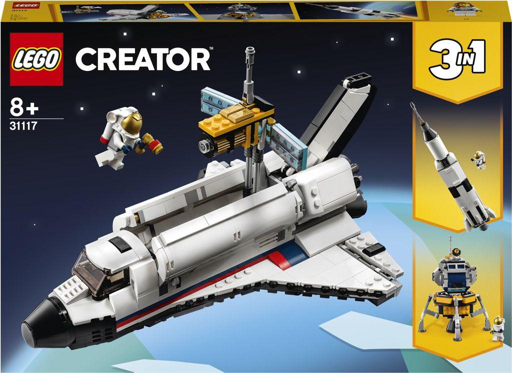 LEGO Creator 31117 Vesmírné dobrodružství s raketoplánem