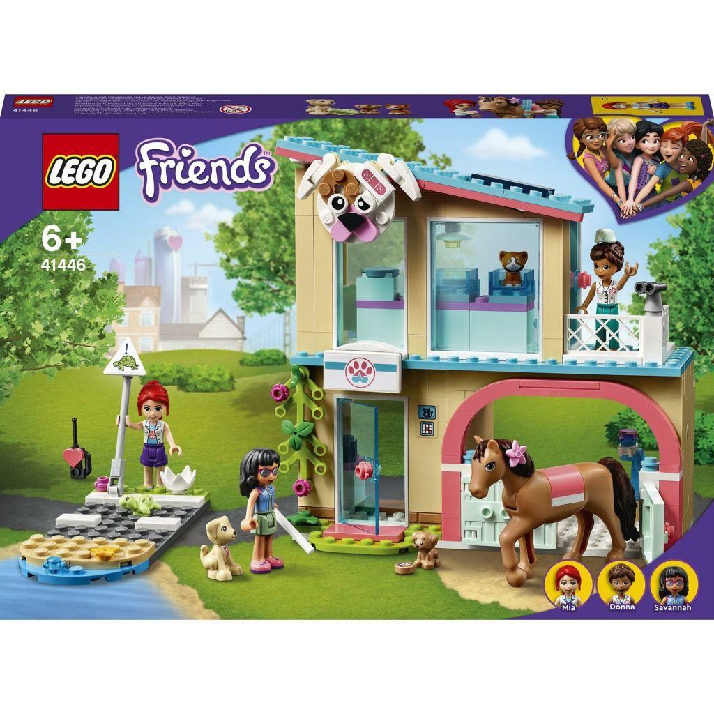 LEGO Friends 41446 Veterinární klinika v městečku Heartlake