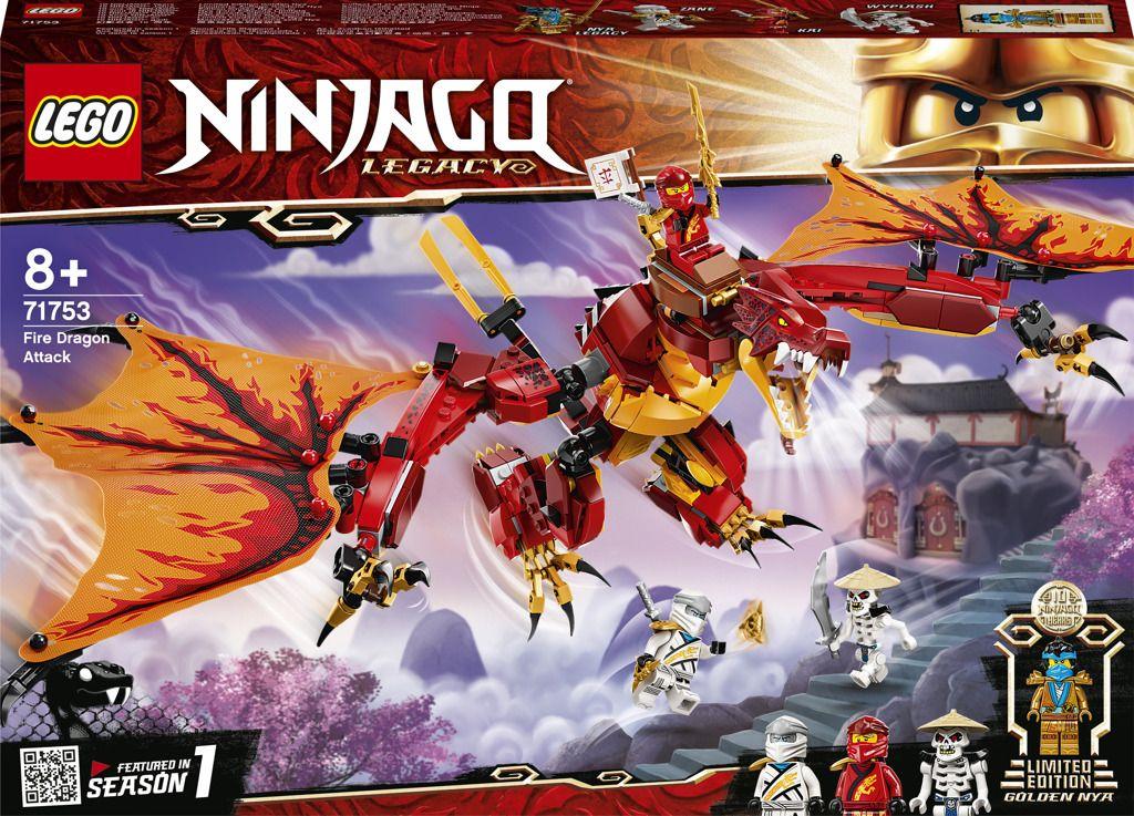 LEGO Ninjago 71753 Útok ohnivého draka