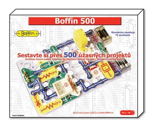 stavebnice Boffin 500