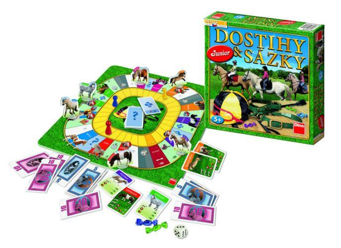 Dino Dostihy a sázky Junior hra