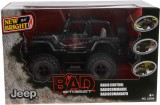 Zvětšit fotografii - NEW BRIGHT R/C Jeep Wrangler BAD STREET 1:20