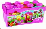 Zvětšit fotografii - LEGO DUPLO 10571 Růžový box plný zábavy