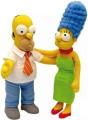 The Simpsons - Homer a Marge 2 plyšové postavičky 37 cm - DOPRODEJ (bez zvuku)