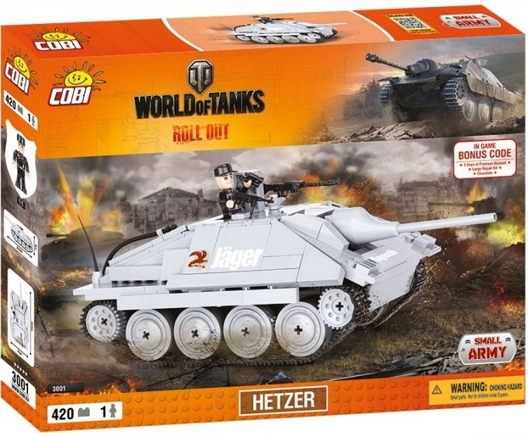 COBI 3001 World of Tanks Hetzer