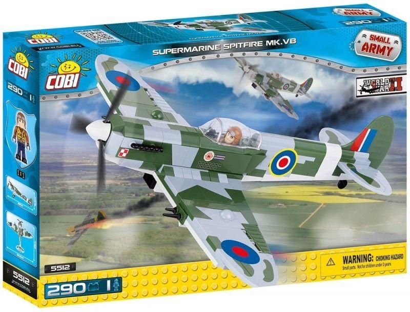 COBI 5512 SMALL ARMY Supermarine Spitfire Mk VB
