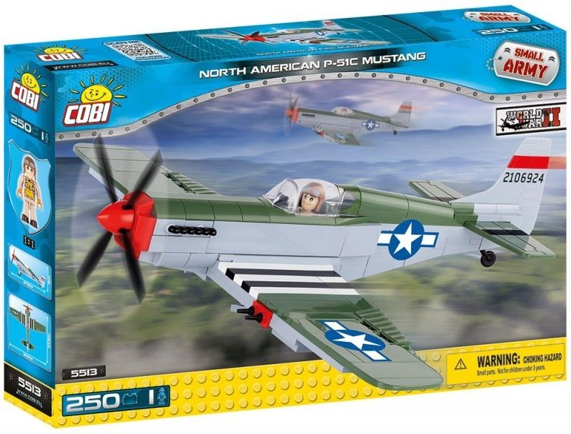 COBI 5513 SMALL ARMY North American P-51C Mustang