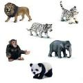 Schleich 40946 - Natur set - divoká zvířata v krabičce