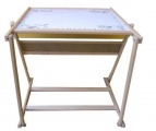 Tabule dřevěná MAGNETICKÁ a stolek 2v1 Jaroš Tlumačov