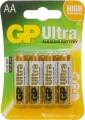 Tužková Alkalická baterie GP ULTRA (AA) 4pack