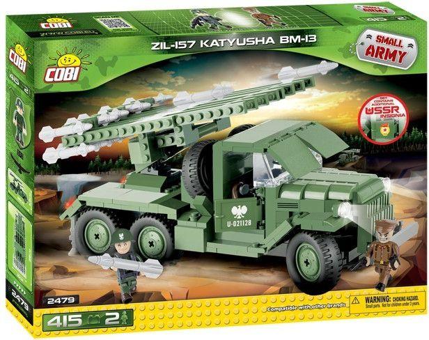Cobi 2479 SMALL ARMY II WW ZIL-157 Kaťuša BM-13