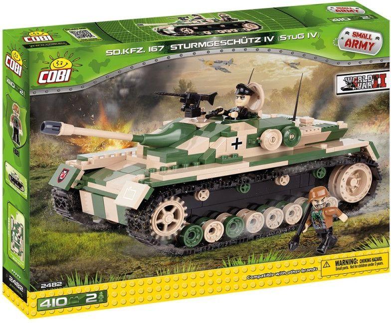 Cobi 2482 SMALL ARMY II WW Sturmgeschutz IV (StuG IV), SdKfz 167