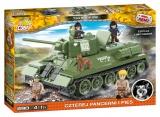 Cobi 2485 T-34/76 z filmu Čtyři z tanku a pes, 490 k, 5 f