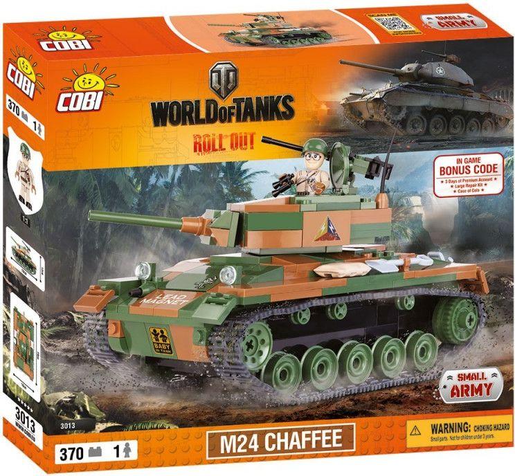 Cobi 3013 World of Tanks M24 Chaffee
