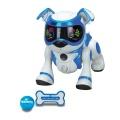 COBI 79408 TEKSTA robotické štěně ovládané hlasem bílo-modrá