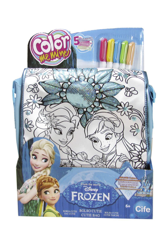 Color me mine modrá kabelka Ledové království All Toys