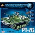 Cobi 21906 Electronic Tank PT-76 (I/R a Bluetooth)