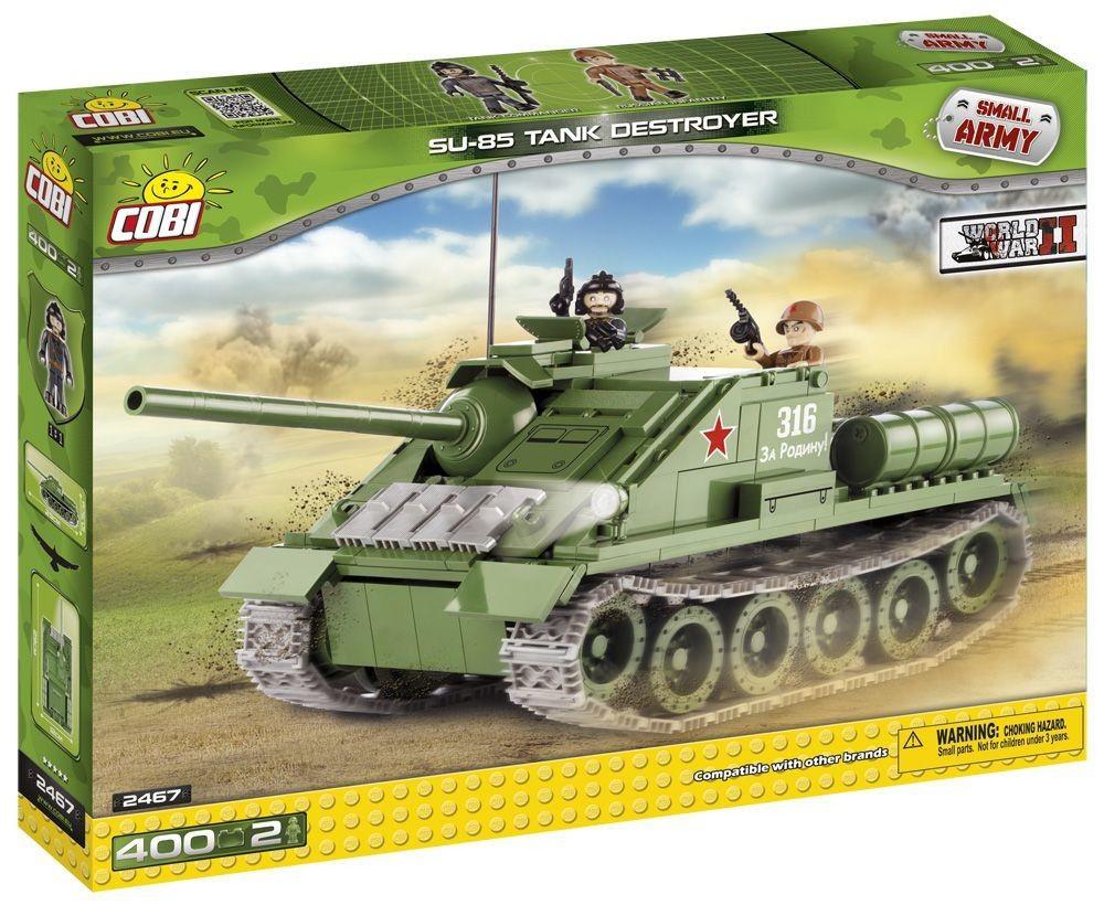 Cobi 2467 Small Army Samohybné dělo SU-85