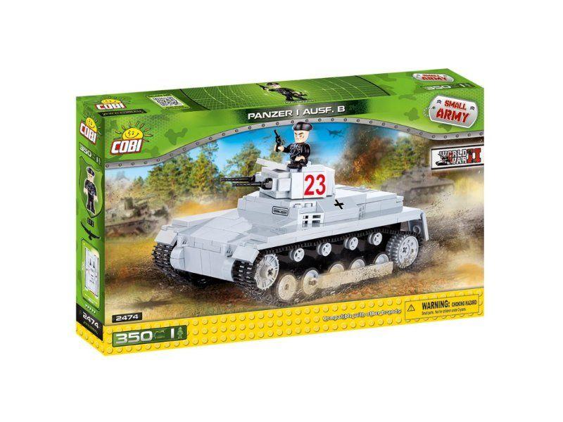 Cobi 2474 II WW Sd. Kfz 101 Panzerkampfwagen I