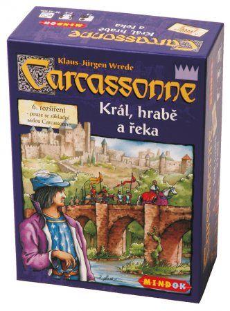 Mindok Carcassonne: Král hrabě a řeka