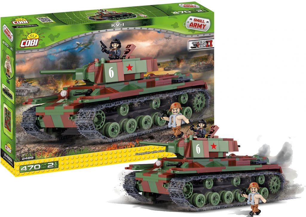 COBI 2489 Small army II WW KV-1 470 k 2 f