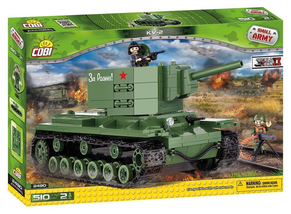 COBI 2490 Small army II WW KV-2 510 k 2 f