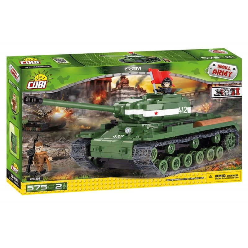 COBI 2491 Small army IS-2M 575 k 2 f