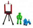 EPline StikBot sada sada figurka + zvířátko se stativem EP Line
