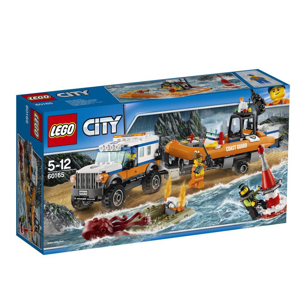 LEGO City 60165 Vozidlo zásahové jednotky 4x4