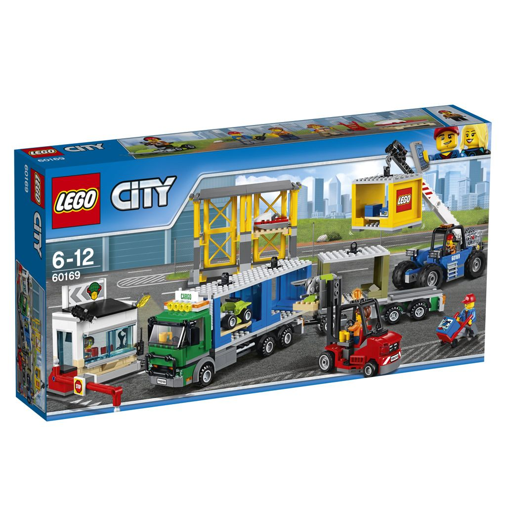 LEGO City 60169 Nákladní terminál